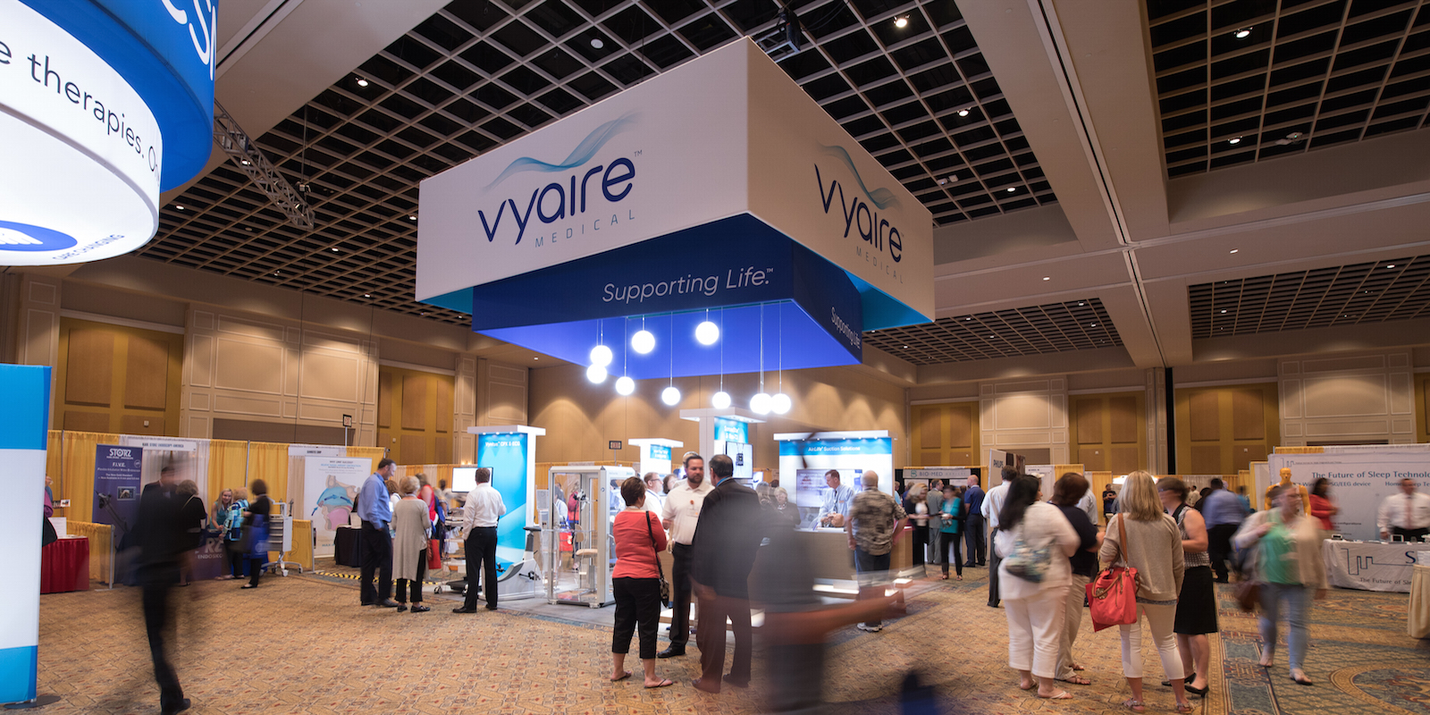 Star :: Vyaire Trade Show Exhibits